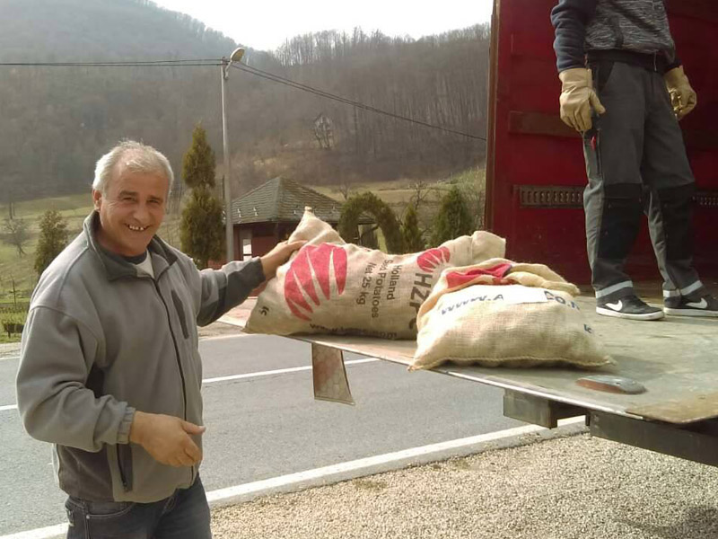Isporuka sjemenskog krompira