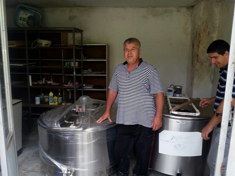 Isporuka laktofriza u Kalesiji