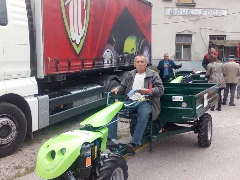 Isporuka poljoprivredne mehanizacije - Hilfswerk Austria International