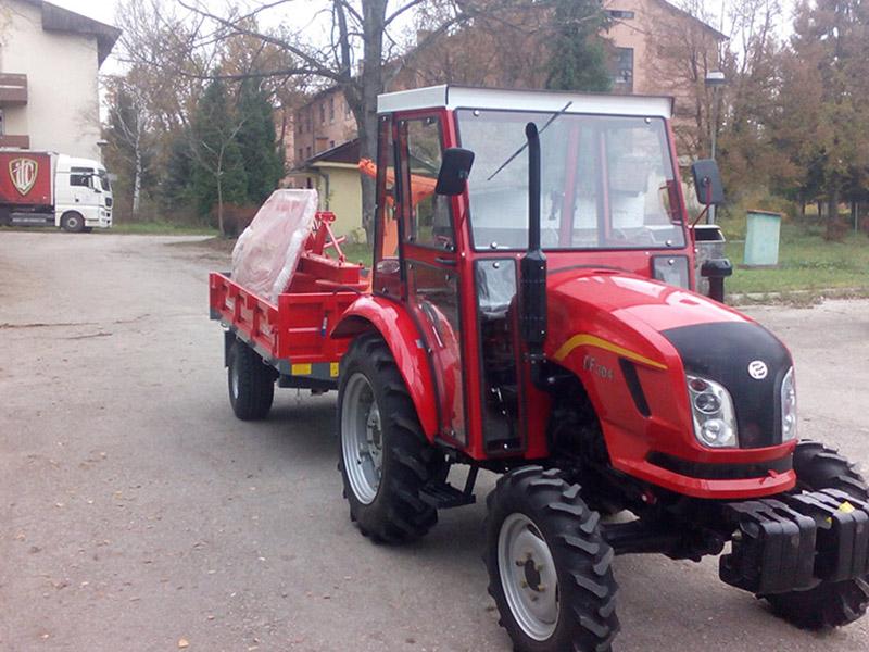 Nabavka traktora sa priključcima - Univerzitet Tuzla