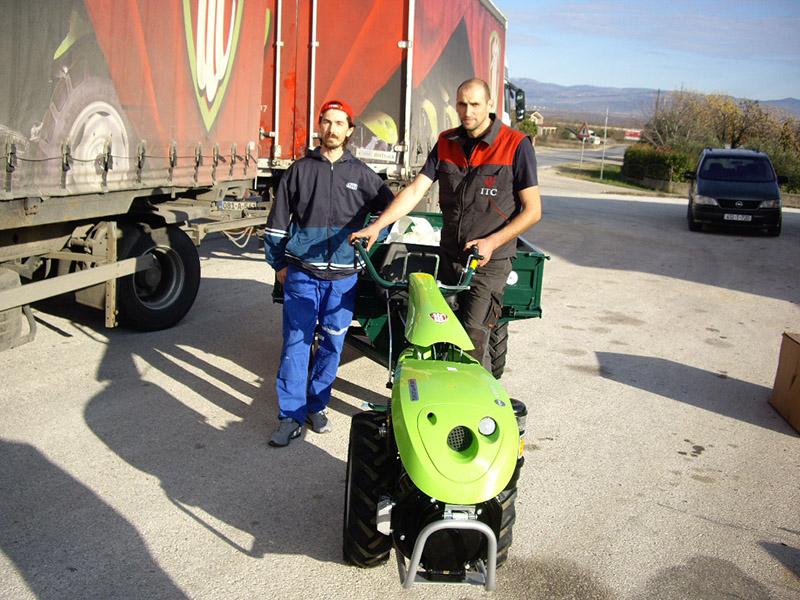 Isporuka poljoprivredne mehanizacije FMROI